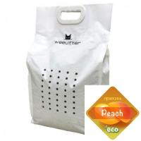 WeeLitter – Натурална, биоразградима соева котешка тоалетна, праскова 6 l