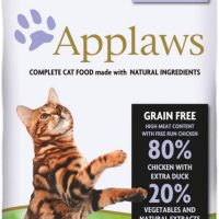 Applaws Adult Cat Chicken with Duck – суха храна за котка с 80% пиле и патица 7,5 кг