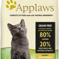 Applaws Senior Chicken – суха храна с 80% Пиле, подходяща за възрастни котки над 10г. – 7,5 кг
