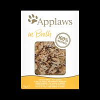 Applaws Chicken breast with quinoa in broth – Пауч за котки с пилешки гърди и киноа в бульон 70гр