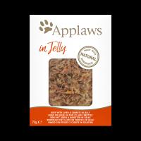 Applaws Beef with liver & carrots in jelly – Пауч за котки с телешко, черен дроб и моркови в желе 70гр