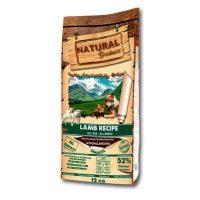 NATURAL Greatness Lamb Recipe Sensitive – рецепта с агне, за чувствителни кучета от всички възрасти и породи 12 кг