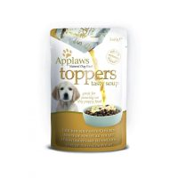 Applaws Dog Toppers Chicken Soup Пауч-Овкусител за малки кученца с пилешко 3 x 60g