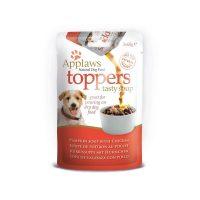 Applaws Dog Toppers Soup Пауч-Овкусител за кучета с пиле и тиква 3 x 60g