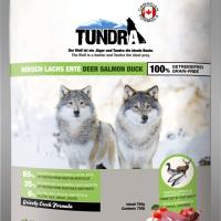Tundra Елен, сьомга и патица – храна за кучета в зряла възраст