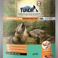 Tundra Елен, пъстърва и говеждо – храна за кучета в зряла възраст