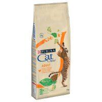 Суха храна за котки Cat Chow Adult пиле и пуйка – 15 кг
