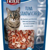 Trixie Premio Tuna Sandwiches – Лакомство за котки под формата на сандвичи с риба тон 50 гр
