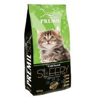 Premil – Cat Sleepy Kitten 33/16 – пълноценна храна за котки от 1 до 12 месеца, бременни и кърмещи – 10 кг.