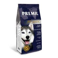 Premil Atlantic – с риба тон и ориз  храна за укрепване на имунитета на кучетата, за чувствителни и податливи на алергии – 15кг.