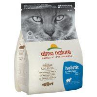 Almo Nature Holistic Sterilised със сьомга и ориз храна за стерилизирани котки – 0.4 kg