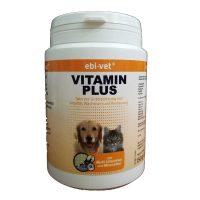 Ebi-Vet Vitamin Plus – ежедневна добавка при хранене с домашна храна и лечение с антибиотици 150гр/300табл
