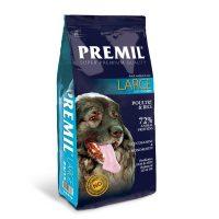 Premil Large 24/15 – с пилешко и патешко месо суха храна за възрастни кучета от средни и едри породи – 15кг