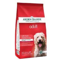 Arden Grange Adult Chicken & Rice – с пилешко месо и ориз – за Малки и средни породи възрастни кучета с нормално ниво на активност – 12 кг