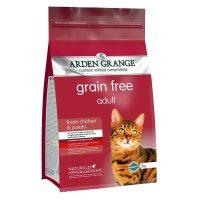 Arden Grange Chicken – с пилешко месо и картофи суха храна  за всички породи пораснали котки с нормално ниво на активност – 8 кг
