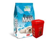 Premil Puppy Maxi – с риба тон, пуешко и патешко месо храна за кученца от големи породи на възраст от 2 до 18 месеца12кг