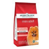 Arden Grange Adult Mini Chicken & Rice – с пилешко месо и ориз – за Малки и средни породи възрастни кучета с нормално ниво на активност – 6 кг