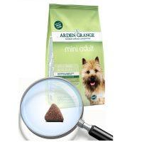 Arden Grange Adult Mini Lamb & Rice – агнешко месо и ориз за Малки и средни породи възрастни кучета с нормално ниво на активност – 6 кг