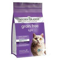 rden Grange Light – пилешко месо и картофи суха храна за Котки, които се нуждаят от отслабване или кастрирани – 8кг