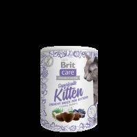 Brit Care Cat Snack Superfruits Kitten  -ПИЛЕ, КОКОС, БОРОВИНКА. ДОПЪЛНИТЕЛНА ХРАНА ЗА КОТКИ НА ВЪЗРАСТ 6 СЕДМИЦИ -100 гр