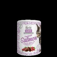 Brit Care Cat Snack Superfruits Salmon – СЬОМГА, ШИПКА, ЧЕРВЕНА БОРОВИНКА. ДОПЪЛНИТЕЛНА ХРАНА ЗА КОТКИ
