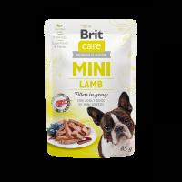 Brit Care Mini Lamb fillets in gravy – пауч за кучета от малките породи с агнешко