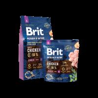Brit Premium by Nature Junior S – ЗА МЛАДИ КУЧЕТА (1-12 МЕСЕЦА) НА МАЛКИ ПОРОДИ (1-10KG). ПОДХОДЯЩА ЗА БРЕМЕННИ И КЪРМЕЩИ КУЧКИ.  -3 кг