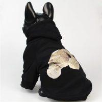 Суитчър черен за кучета  размер L