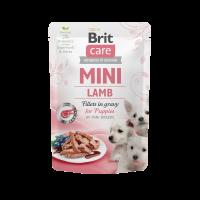 Brit Care Mini Puppy Lamb fillets in gravy – пауч за кученца от малките породи с агнешко