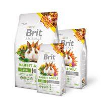 Brit Animals RABBIT ADULT Complete – Супер премиум пълноценна храна за зайци -0,3 кг
