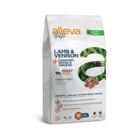 Alleva® Holistic (Adult Medium/Maxi) Lamb & Venison + Cannabis sativa & Ginseng 12 kg