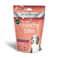 Arden Grange Crunchy Bites Salmon – хрупкави бисквити със Сьомга 225гр