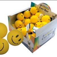 Croci Играчка за кучета или котки усмихнати глави 4.5 см.