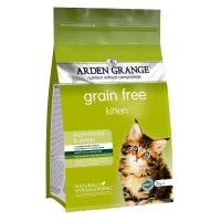 Arden Grange Kitten –  суха храна с пилешко месо и картофи за Котенца на възраст от 5 седмици до година, Бременни или кърмещи котки – 8 кг