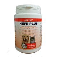 Ebi-Vet Hefe Plus – хранителна добавка при смяна на козината, кожни заболявания, липса на апетит 300табл