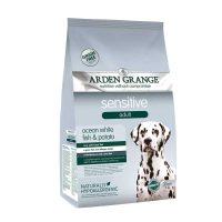 Arden Grange Sensitive Adult Grain free – с бяла риба и картоф – за Пораснали кучета с деликатно храносмилане или чувствителна кожа – 12 кг