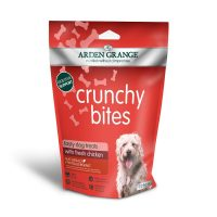 Arden Grange Crunchy Bites Chicken – хрупкави бисквити със Пилешко месо 225гр