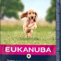 EUKANUBA DOG AD SMMED SALMON Храна суха за израснали кучета от дребни и средни породи над 1 година. Богата на сьомга – 12 кг
