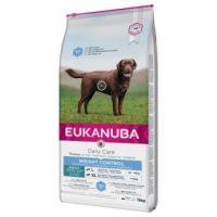 DAILY CARE LARGE WEIGHT CONTROL EUKANUBA суха храна за израснали кучета от едри породи над 1 година склонни към напълняване – 15 кг