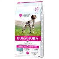 EUK DOG ADULT WORKING & ENDURANCE EUKANUBA  за израснали кучета , които имат високи натоварвания при упражнения и работа от всички породи. Възраст над 12 месеца -15+4 kg