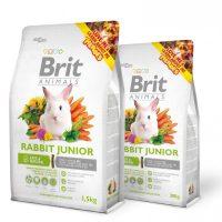 Brit Animals RABBIT JUNIOR Complete – Супер премиум пълноценна храна за малки зайчета -0,3 кг