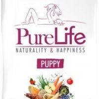 Пълноценна храна за малки кученца, кучета в напреднала бременност и кърмещи кучета, 12кг – Pro-Nutrition Flatazor PureLife Puppy – без зърнени храни, 85% протеини от животински произход