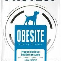 Пълноценна диетична храна за кучета с наднормено тегло, 12 кг – Pro-Nutrition Flatazor Protect Obesite – ниска калоричност, гарантирано засищане на глада, 75% протеини от животински произход