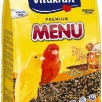 Храна за канарчета с мед – 1кг Vitakraft Premium Menu Vital
