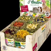 Gimbi I Cestini – Кошнички от полски билки за всички гризачи – 12 бр.х75 г