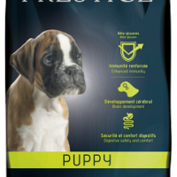 Prestige Puppy Пълноценна храна за подрастващи кучета от всички породи, както и за женски кучета от всички породи в края на бременността или в периода на кърмене 12 kg