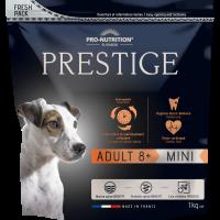 Prestige ADULT 8+ MINI Пълноценна храна за кучета от дребни породи на възраст над 8 години 1 kg