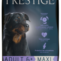 Prestige ADULT 6+ MAXI Пълноценна храна за кучета от едри породи на възраст над 6 години 15 kg