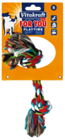 Играчки за кучета – памучен възел 20см – Vitakraft For You