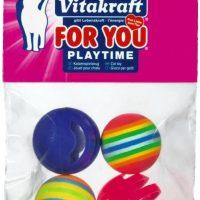 Играчки за котки – 2 звънчета и 2 топки – Vitakraft For You